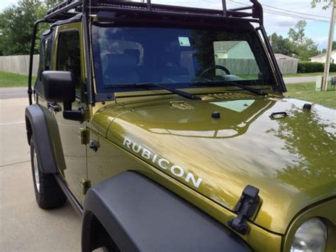 Used Gobi Roof Rack For Sale by Sell Used 2007 Jeep Wrangler Rubicon 2dr Soft Top