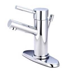Sink And Faucet Modern Cavell Single Handle Polished Chrome Bathroom Sink