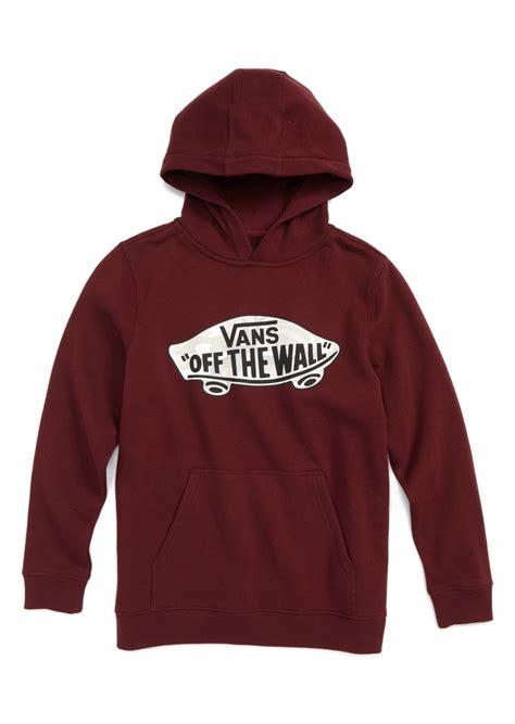 Hoodie Vans The Wall vans vans the wall fleece hoodie big boys