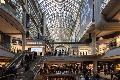 toronto eaton centre visitor information