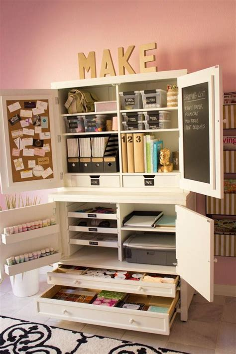 armoire craft storage best 20 craft armoire ideas on pinterest craft cupboard
