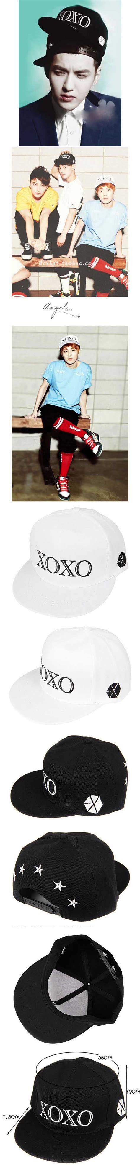 Topi Snapback Xoxo Korean Style Import jual topi snapback hiphop pria korea xoxo