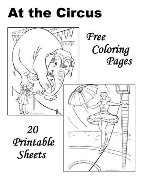 printable circus activity sheets circus coloring pages