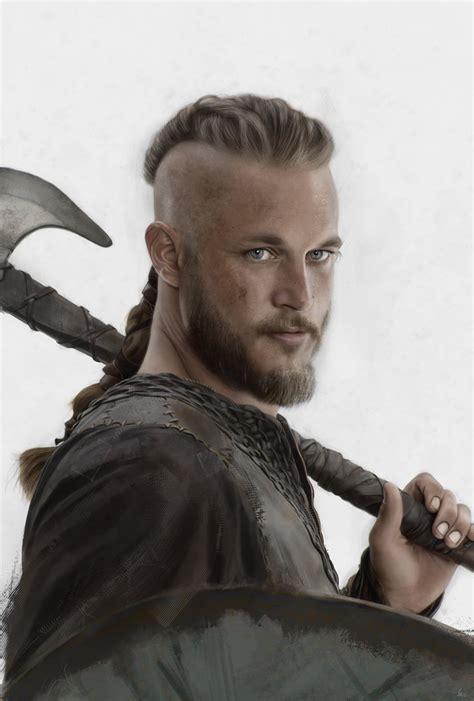 travis fimmel vikings hairstyle vikings ragnar lodbrok by coffeeandmarkers on deviantart