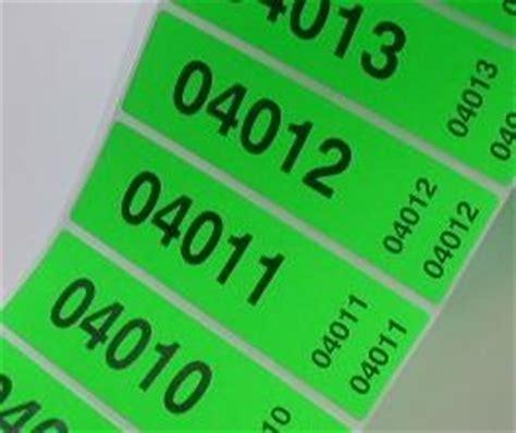 Etiketten Drucken Fortlaufender Nummerierung by Sigtech Ag Funktions Selbstklebeetiketten Ausf 252 Hrung
