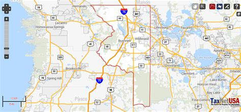 Sumter County Search Sumter County Florida Property Search And Interactive Gis Map
