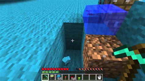 tuto minecraft crer une base indetectable dans la ouvrir une porte avec une fleur tuto minecraft youtube