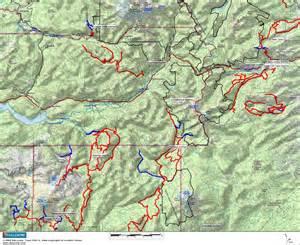 crescent lake oregon map maps