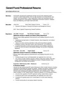 Professional Summary Resume Exles by How To Write A Career Summary On Your Resume Recentresumes