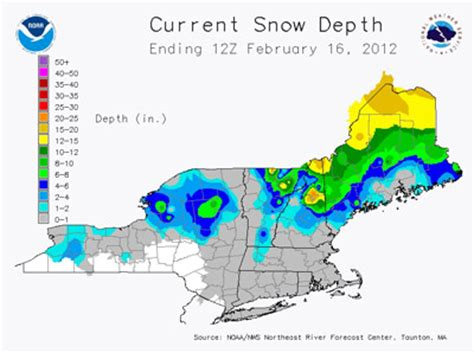 snow depth map plenty of snow affordable winter recreational opportunities in western maine the