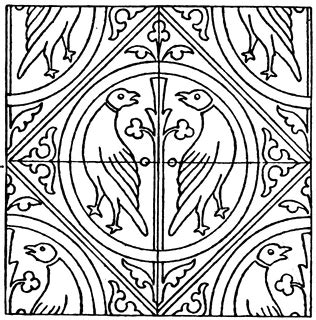 tile pattern drawings medieval tile pattern clipart etc