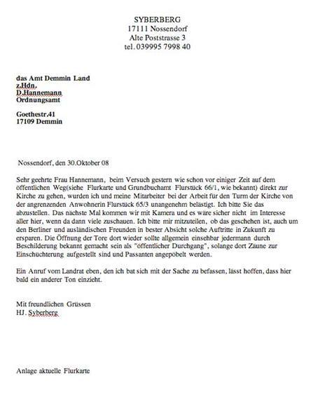 Offizieller Brief Schule 31 Oktober