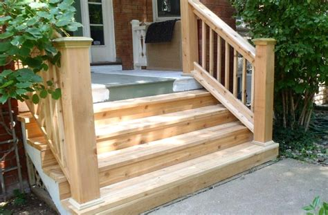 mobile home steps diy guide on building stairs for your home