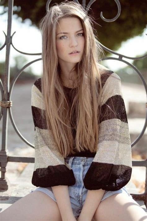 Modele Couleur Cheveux by La Couleur Blond Fonc 233 Parfait Pour Cette 233 T 233 Et Automne