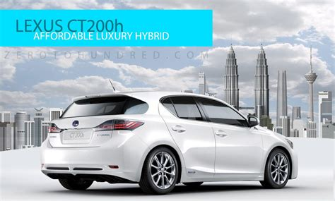 lexus ct200h price malaysia lexus ct200h to be launched next week rm168k onwards