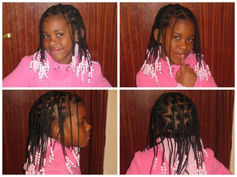 hair for 7 years old 7 year old with beads and braids shared by katia hair