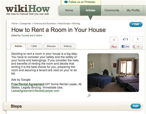 Renting Out A Room In Your Home by Renting Out A Room In Your House