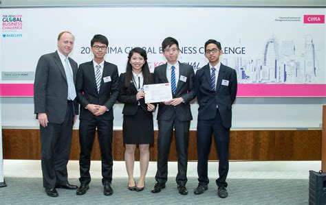 Hkust Mba Results by Hkust Achieves Best Results In Cima Global Business Challenge