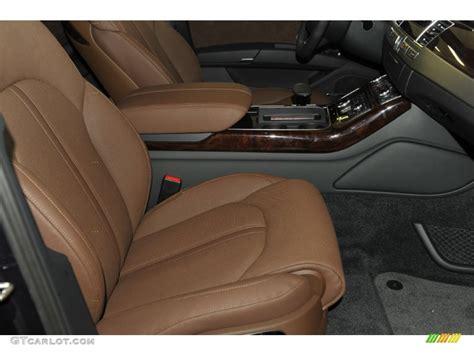 Audi A8 Nougat Brown Interior by Nougat Brown Interior 2012 Audi A8 4 2 Quattro Photo