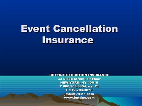 My Clips by Buttine Exhibition and Event Insurance