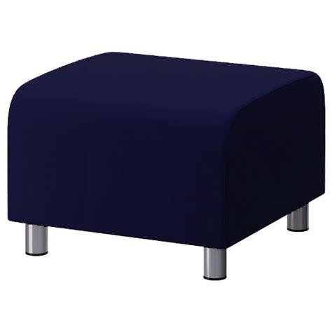 ikea klippan ottoman custom slip cover for ikea klippan footstool 100 cotton