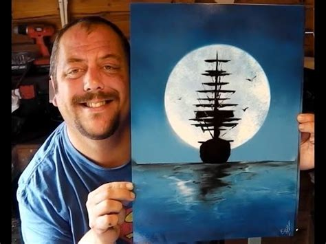 how to ship a how to spray paint moonlight ship