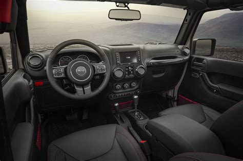 Jeep Jk Interior 2017 Jeep Wrangler Rubicon Recon Is The Most Road