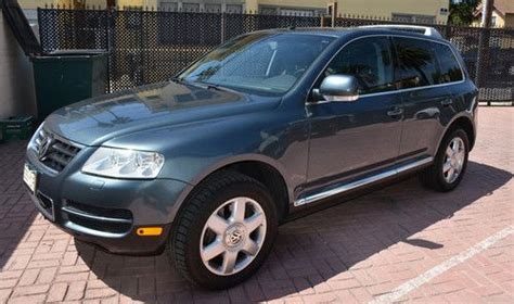 how to sell used cars 2004 volkswagen touareg parking system sell used 2004 volkswagen touareg tdi sport utility 4 door 4 9l powerhouse beauty in long beach