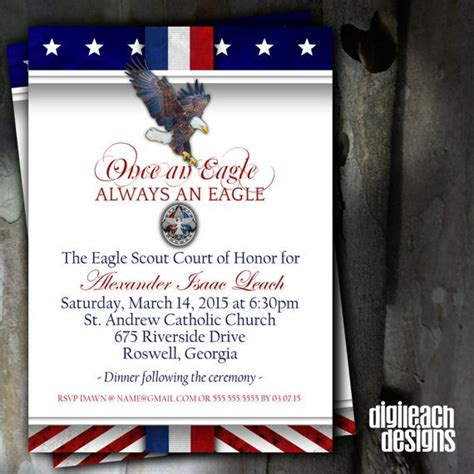 eagle scout court of honor invitation template eagle scout court of honor invitation always an eagle