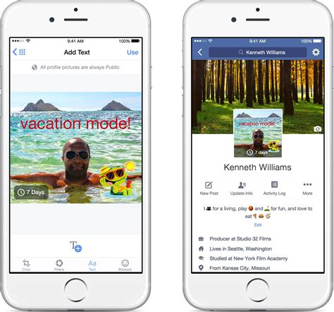 facebook themes for iphone video time limited images and more coming to facebook