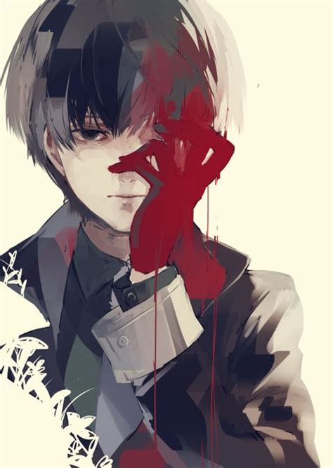 Anime W Stylu Tokyo Ghoul by Pixiv Is An Illustration Community Service Where You Can