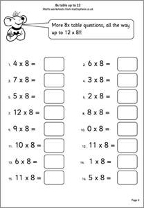 math worksheets year 6 boxfirepress