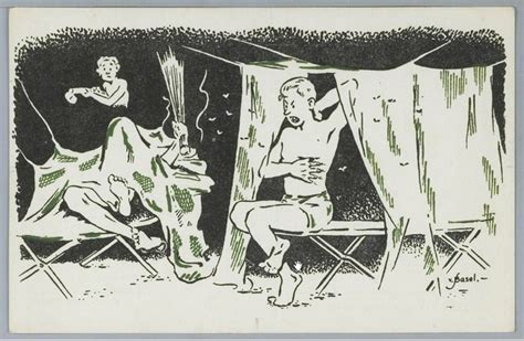 Kelambu Becak humor kartun unik serdadu londo tahun 1948 oleh gustaaf