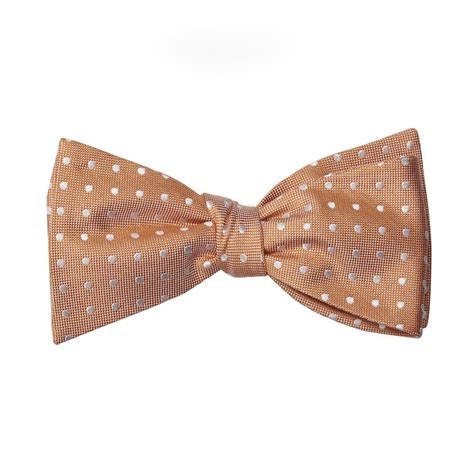 patterns for pirates bow tie peach bow tie silk polka dots mens perfect tux