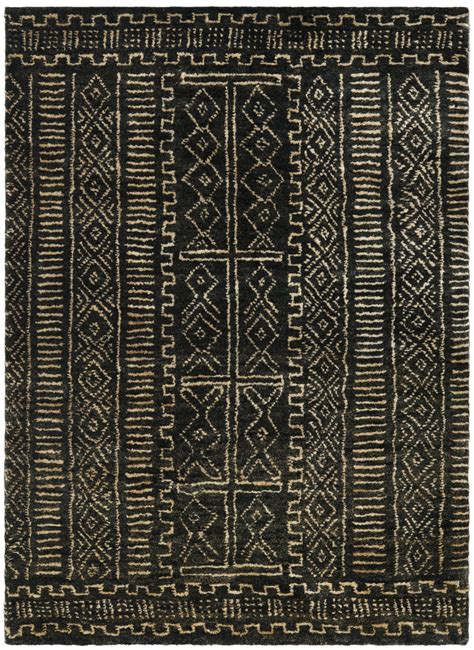 and black area rugs ralph ralph kenya rlr5112a black area rug 70586