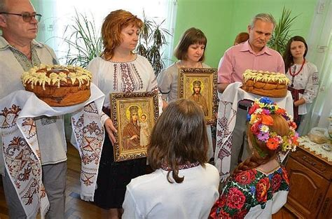 Wedding Blessing By Parents by Foreign Marriage Ukrainian Wedding Traditions Fgf