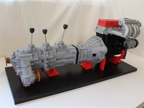 Toyota Gear Driven Transfer Working Gear Driven 4wd Toyota Transfer Model By