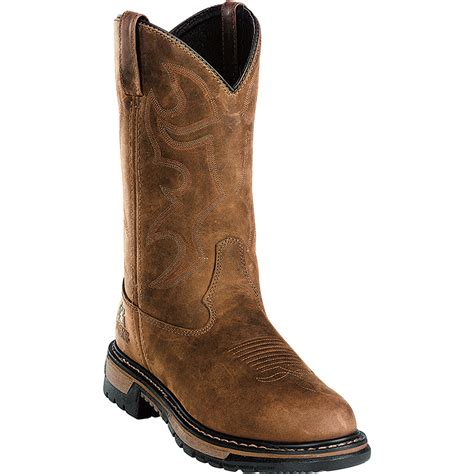 rocky boots rocky s 11in branson roper waterproof wellington boot