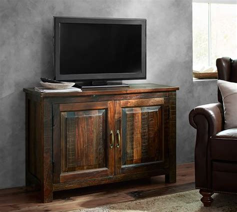 pottery barn tv cabinet bowry small tv stand pottery barn