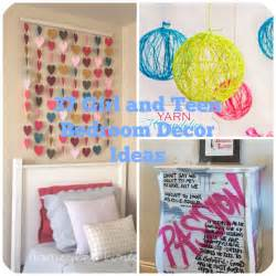 37 diy ideas for teenage girl s room decor 31 teen room decor ideas for girls diy projects for teens