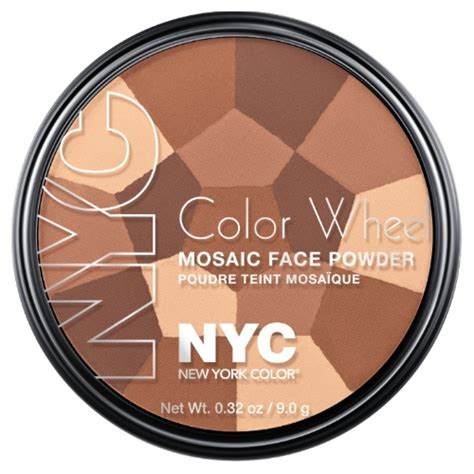 nyc color wheel nyc color wheel mosaic powder all bronze glow
