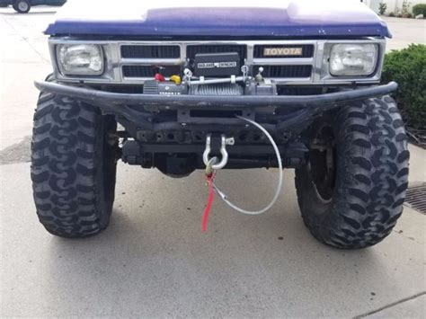 toyota dual transfer 1986 toyota up 4x4 rock crawler with dual transfer