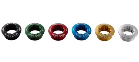 Baut Chainring Bolt Nut Aerozine Gold Anodize product kcnc alloy shimano htii crank bolt