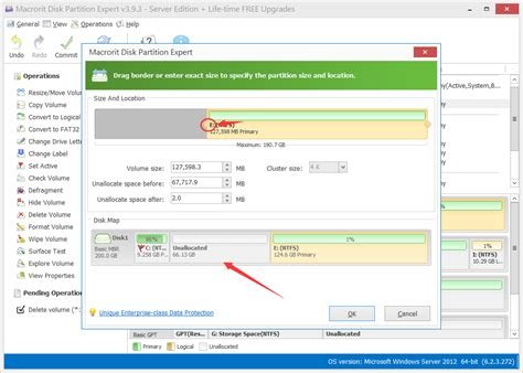 diskpart format unallocated space extend c drive server 2008 diskpart or partition expert