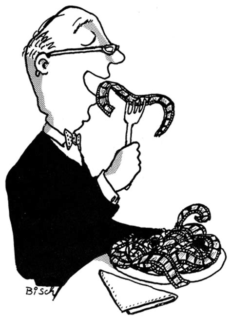 film critic cartoon film critic by bisch media culture cartoon toonpool