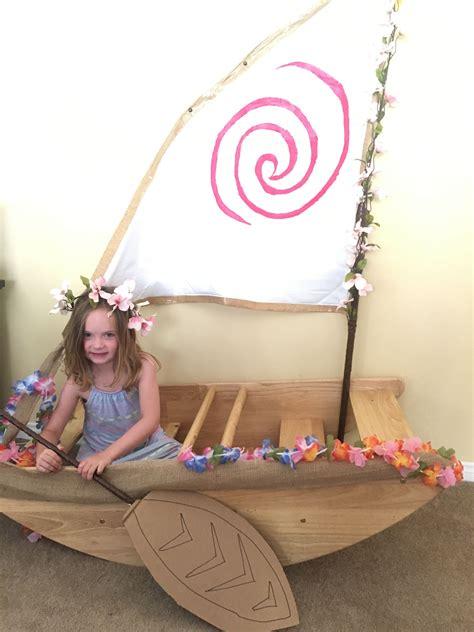 moana boat prop moana party photo prop scarlett s 3rd birthday in 2019