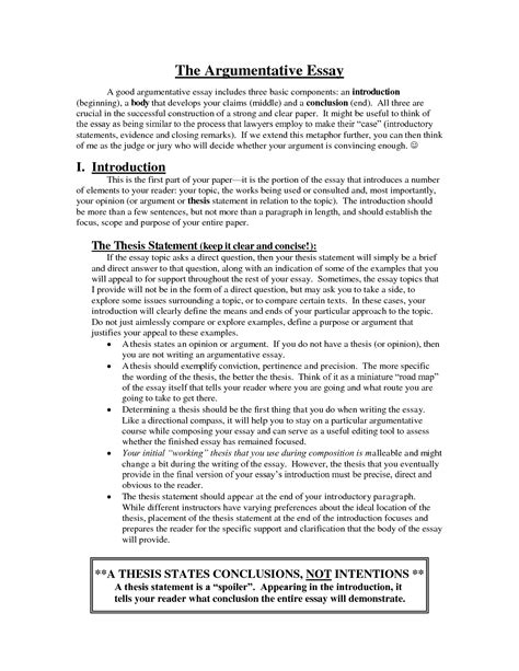 Introduction Essay Help by Argumentative Essay Introduction Exles Image Best Free Home Design Idea Inspiration