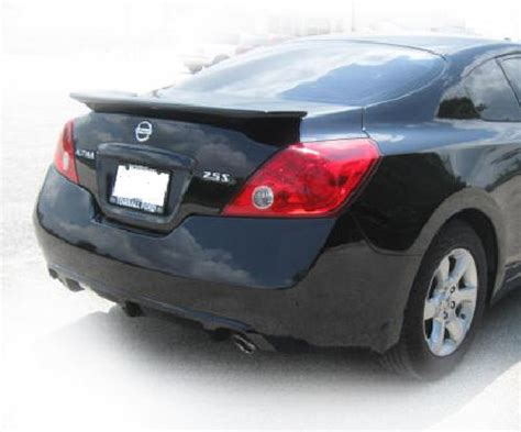 2012 nissan altima jdm 2008 2012 nissan altima coupe jdm style rear wing spoiler