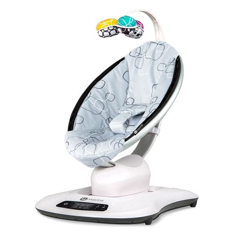 swing 4moms 4moms mamaroo 4 0 silver plush peppermint