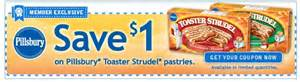 Pillsbury Toaster Strudel Coupon Coupon For Pillsbury Toaster Strudel Pastries Freebies